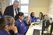 Year 8 students learn business skills