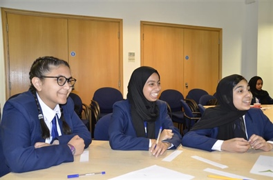 Manchester Academy students learn about world of insurance