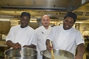Two former Manchester Academy students start chef apprenticeships at Midland Hotel
