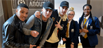 Boy band launches single and visits Manchester Academy to encourage young people to discuss violence and extremism