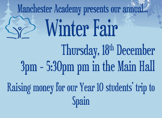 Winter Fair - click here for more details...
